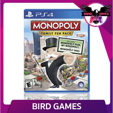 Monopoly Family Fun Pack PS4 Game