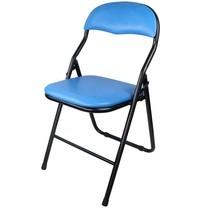 Telecorsa เก้าอี้พับอเนกประสงค์ คละสี รุ่น Foldable-metal-chair-soft-cushion-04b-Psk2