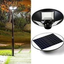 Telecorsa ไฟโซล่าเซลล์ 450W  ไฟจานบิน 360 องศา รุ่น Circle-Solar-Light-Garden-00G-Song