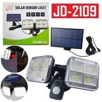 Telecorsa โคมไฟติดผนัง SOLAR SENSOR LITH JD2109 รุ่น  Solar-Sensor-light-120-SMD-Led-JD-2109-09a-Song