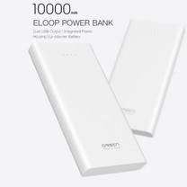Eloop Powerbank รุ่น E41 10000 mAh สีขาว / White แถมซอง สายชาร์จ