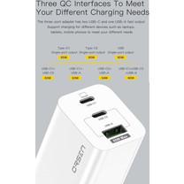 Adapter ELOOP C5 PD/QC 65W GAN Fast Charger ส่งฟรี!