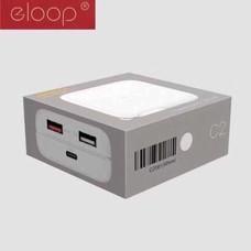 Adapter ELOOP C2 PD/QC 30W Quick Adapter