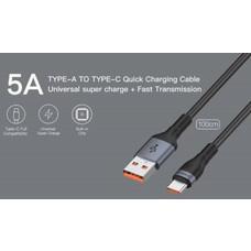 สายชาร์จ Eloop S7 USB-A to Type C