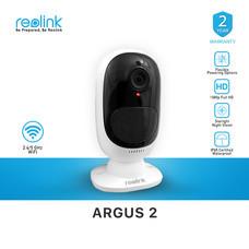 กล้องวงจรปิด Reolink Argus2 Outdoor IP Camera 2ล้านพิกเซล (แบตเตอรี่ในตัว+สามารถใช้งานโซล่าได้) ของแท้แน่นอน 100% รับประกัน 2 ปี