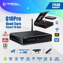 กล่องแอนดรอยด์ทีวี Himedia Q10 Pro HDR 4K Player Android 7 Smart Tv Box รองรับภาษาไทย ใส่ HDD ได้ เล่นไฟล์ได้ครบ แรง เสถียร