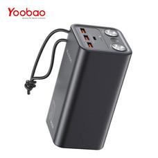 Yoobao H5 50000mAh Quick Charging PD22.5W Power Bank แบตเตอรี่สำรอง ไฟฉาย 2 ช่อง
