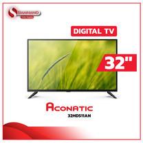 "TV Digital Full HD 32"" ทีวี Aconatic รุ่น 32HD511AN ( รับประกันศูนย์ 1 ปี )"