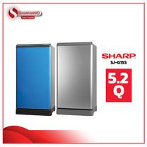 ตู้เย็น SHARP รุ่น SJ-G15S ขนาดความจุ 5.2Q (รับประกันสินค้านาน 10 ปี)
