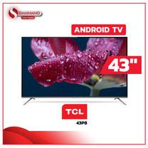 "TV Andriod UHD 4K ทีวี 43"" TCL รุ่น 43P8 (รับประกันศูนย์ 3 ปี)"