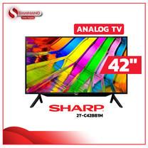 "TV Analog 42"" ทีวี SHARP รุ่น 2TC42BB1M (รับประกันศูนย์ 1 ปี)"
