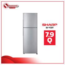 ตู้เย็น Sharp รุ่น SJ-Y22T (SL) ขนาดความจุ 7.9 คิว สี Silver