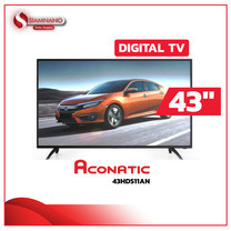 "TV Digital Full HD 43"" ทีวี Aconatic รุ่น 43HD511AN"