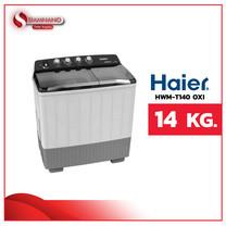 เครื่องซักผ้า 2 ถัง HAIER รุ่น HWM-T140 OXI ขนาด 14Kg. (รับประกันสินค้านาน 12 ปี)
