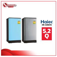 ตู้เย็น 1 ประตู Haier รุ่น HR-ADBX15 ขนาด 5.2Q มีสองสี ( รับประกันคอมเพรสเซอร์ 5 ปี )