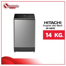 เครื่องซักผ้าฝาบน Hitachi รุ่นใหม่ SF-140TE ขนาด 14 kg. (รับประกันนาน 10 ปี)