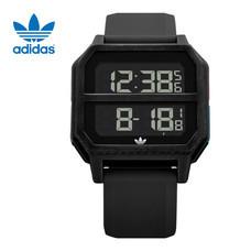 Adidas AD-Z163042-00 Archive R2 นาฬิกาข้อมือผู้ชายและผู้หญิง สีดำ