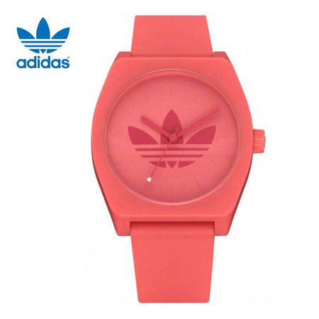 Adidas AD-Z103265-00 Process SP1 นาฬิกาข้อมือผู้ชายและผู้หญิง สีแดงพาสเทล