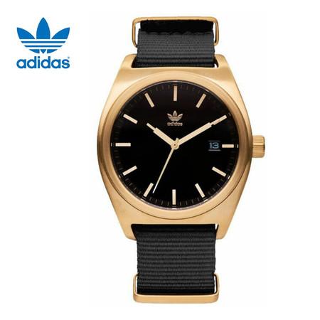 Adidas AD-Z09513-00 Process W2 นาฬิกาข้อมือผู้ชาย สีดำ