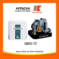 Hitachi ปั๊มน้ำ รุ่น WM-P250GX2 250W