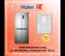 HAIER ตู้เย็นมัลติดอร์ 4 ประตู รุ่น HRF-MD430STL สี สแตนเลส ขนาด 15.5 คิว ระบบ Inverter HRFMD430STL HRFMD430 MD430STL