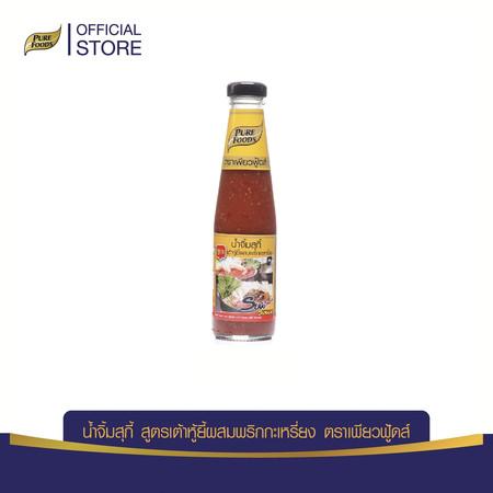 Pure Foods น้ำจิ้มสุกี้พริกกะเหรี่ยง 280 กรัม