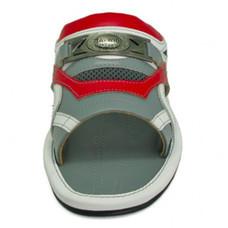 TAYWIN(แท้) รองเท้าแตะเทวินทร์ ผู้ชาย รุ่น SKF-28 หนังนิ่มสีเทาอ่อน-หนังนิ่มสีแดง-หนังปั่นนิ่มสีขาว