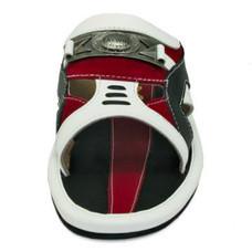 TAYWIN(แท้) รองเท้าแตะเทวินทร์ ผู้ชาย รุ่น SKF-21 หนังนิ่มสีขาว-นิ่มสีดำ-หนังกลับสีแดง