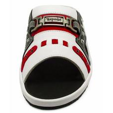 TAYWIN(แท้) รองเท้าแตะเทวินทร์ ผู้ชาย รุ่น SKF-12 หนังปั่นนิ่มสีขาว-หนังกลับแดง-หนังนิ่มดำ