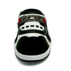TAYWIN(แท้) รองเท้าแตะเทวินทร์ รุ่น SKF-31 หนังไมโครไฟเบอร์นิ่มสีดำ-ปั่นนิ่มสีขาว-กลับสีกรมท่า-นิ่มสีแดง