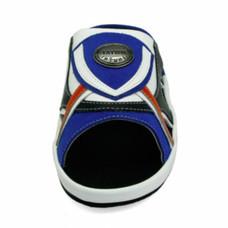 TAYWIN(แท้) รองเท้าแตะเทวินทร์ ผู้ชาย รุ่น SKF-26 หนังกลับสีน้ำเงินสด-นิ่มสีดำ-ขาว-ส้ม