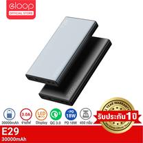 [ประกัน 1 ปี] Eloop E29 แบตสำรอง 30000mAh QC 3.0 PD 18W ชาร์จเร็ว Power Bank Fast Quick Charge ของแท้ 100% รับประกัน 1 ปี