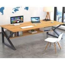 TS Modern Living โต๊ะทำงานไม้ รุ่น TA0001BE ขนาด 100*48 ซม.