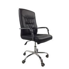 TS Modern Living เก้าอี้สำนักงาน  ทรงสูง ปรับระดับ มีล้อ ลาก รุ่น CH0005BK