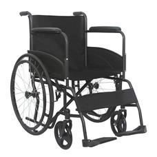 รถเข็นผู้ป่วย รถเข็นผู้สูงอายุ รถเข็นคนชรา รถเข็นผู้พิการ Wheelchair วิลแชร์ เหล็กชุบโครเมียม แบบพับได้ รุ่น875