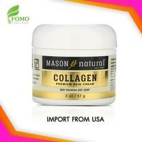 ครีมคอลลาเจนนำเข้าจาก USA สำหรับผิวหน้า Mason Natural Collagen Premium Skin Cream 2 oz (57 g)