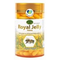 (หมดอายุ 2023) นมผึ้ง1000 มล. [120 เม็ด][อย ไทย] Nature King Royal jelly