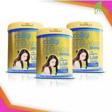 [กระปุกใหญ่] Amado Colligi Collagen TriPeptide + Vitamin C คอลลิจิ คอลลาเจน [3 กระปุก] อาหารเสริมสำหรับผิว