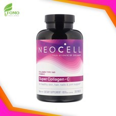 Neocell Super Collagen+C 6000 mg. [250 เม็ด] คอลลาเจน+วิตามินซี อาหารเสริมสำหรับผิว