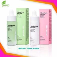 เช็ตคู่ เซรั่ม Skinrx Lab MadeCera Cream Fresh Clearing Ampoule + MadeCera Cream Moisture Barrier Ampoule [13 ml.] ของแท้ มี QR Code