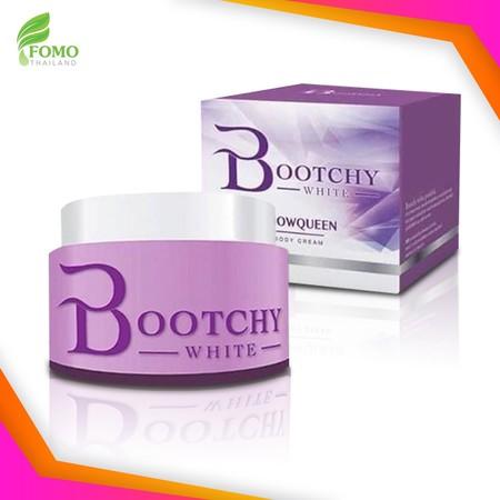 Bootchy White Snow Queen Extra Body Cream 50g. *สินค้าของแท้ กรีดรหัส* บูชชี่ไวท์ สโนว์ควีน ครีมสำหรับรักแร้ ผิวกาย