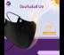 ALLWELL 3-Layer Mask หน้ากากผ้ากันน้ำ นวัตกรรม Magic silver