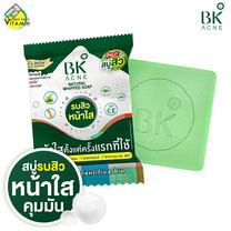สบู่ BK Acne Natural Whipped Soap [60 g.]