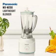 Panasonic เครื่องปั่น อเนกประสงค์  รุ่น MX-M200 ขนาด 1.5 ลิตร กำลังไฟ 450 วัตต์ ปั่นน้ำผลไม้ ปั่นอาหาร รับประกันศูนย์ 1 ปี (สีขาว-เขียว)