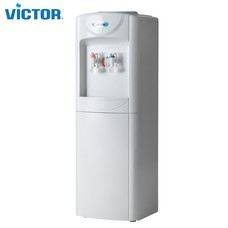 Victor ตู้กดน้ำร้อน-น้ำเย็น รุ่น VT-235 พลาสติก 2 ก็อก ตู้กดน้ำ รับประกันศูนย์ 1 ปี