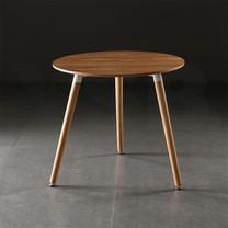 โต๊ะกลมอเนกประสงค์ สไตล์โมเดิร์น ขาไม้บีช แบบกลม ขนาด 80 x 69 cm