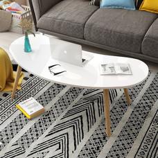 โต๊ะ โต๊ะกลาง โต๊ะห้องนั่งเล่น สไตล์มินิมอล เฟอร์นิเจอร์แต่งบ้าน ยาว 76 CM