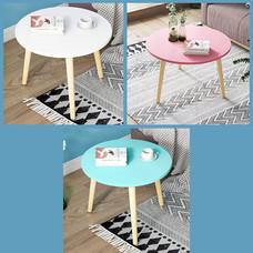 โต๊ะ โต๊ะกลม โต๊ะกลาง โต๊ะห้องนั่งเล่น โต๊ะอเนกประสงค์ เฟอร์นิเจอร์แต่งบ้าน ขนาด 40 x40x 35 cm.