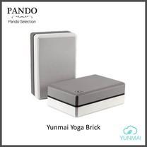 โฟมโยคะ Yunmai Yoga Brick (Grey) สำหรับออกกำลังกายเล่นโยคะ