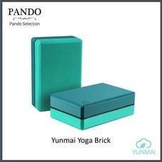 โฟมโยคะ Yunmai Yoga Brick (Green) สำหรับออกกำลังกายเล่นโยคะ
